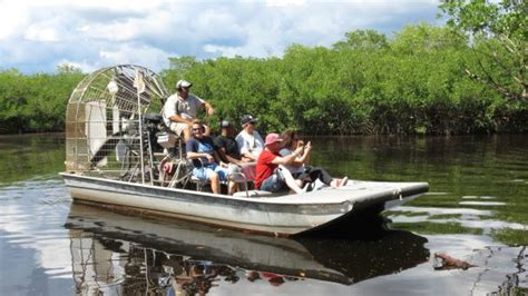 Everglades City Boat Tours by Captain Doug S Airboat Tour Picture Of Captain S
