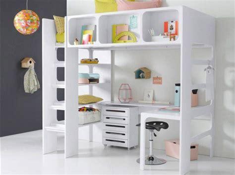 lit mezzanine avec bureau lit mezzanine avec bureau pour fille visuel 3