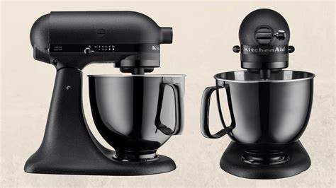 kitchenaid released   black stand mixer  changed