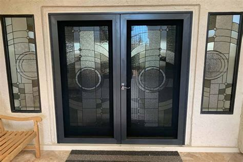 security screen french doors