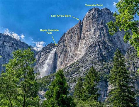 Yosemite Falls Mountain Year Yoy Day