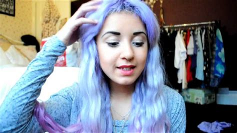 Mermaid Hair How To Dye Your Hair Pastel Lilac With