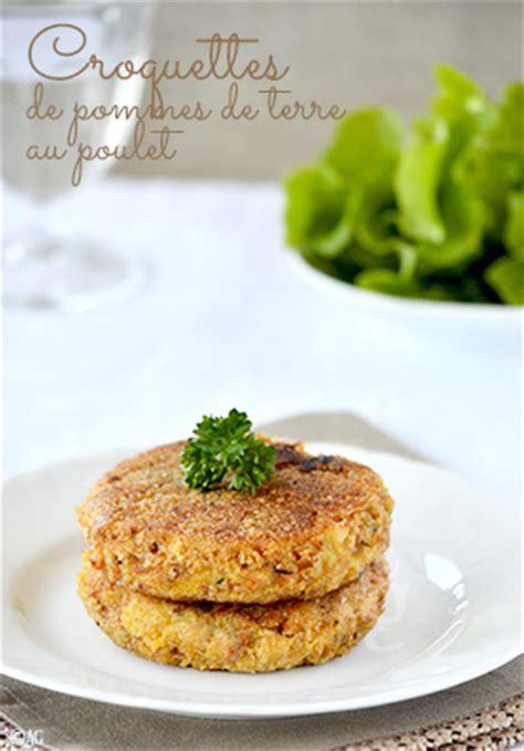 cuisiner les restes de poulet alter gusto croquettes de pommes de terre au poulet