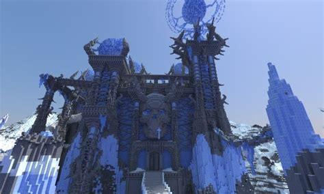 akul kala frozen castle minecraft building