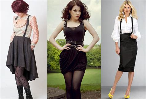 Suspenders for Women How to Wear? Female Outfits u0026 Style Tips