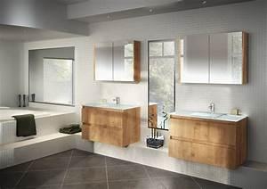 Store Salle De Bain : salle de bains mod le rivage en stratifi d cor sci gris ~ Edinachiropracticcenter.com Idées de Décoration