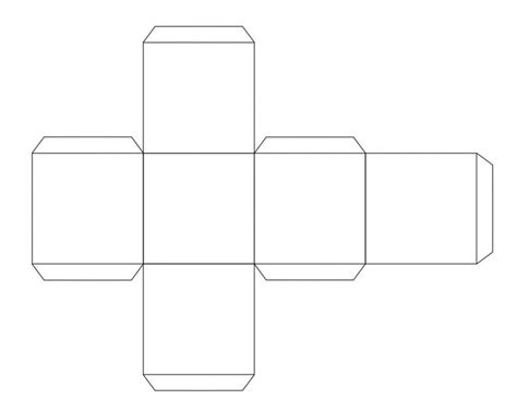 Cube Template Template Cube Template