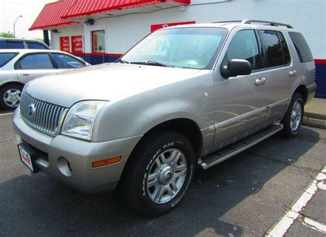 automobile air conditioning service 2003 mercury mountaineer interior lighting sell used 2003 mercury mountaineer 4 6l v8 premier awd no reserve lexington ky in lexington