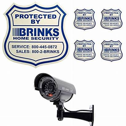 Security Fake Adt Signs Dummy Camera Decals