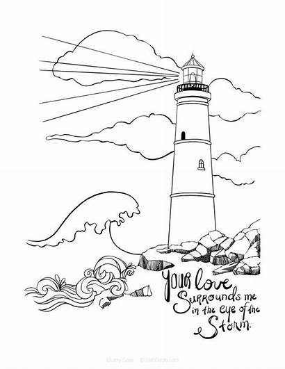 Coloring Pages Bible Verse Psalm Romans Journaling