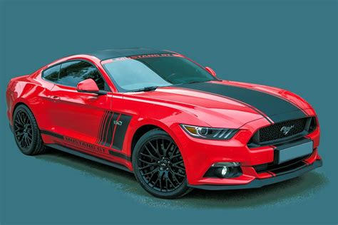 Ford Mustang Gt Sports Car · Free Photo On Pixabay
