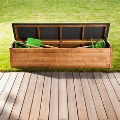 Banquette Exterieure Bois by Rangement Exterieur On Pinterest Outdoors Storage And