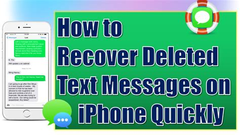 how to retrieve deleted texts from iphone how to recover deleted text messages from iphone for free