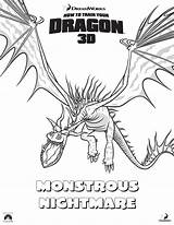 Dragon Coloring Train Pages Nightmare Monstrous Sheets Printable Hookfang Httyd Dragons Changewing Template Getcolorings Enchanting Monstous Outline Popular Visit Dr sketch template