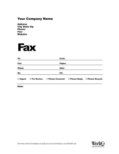 fax cover sheet template free fax cover sheet template bamboodownunder