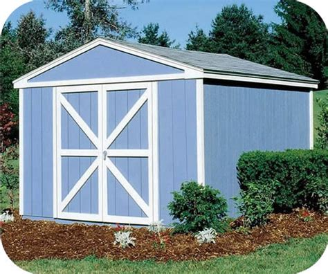 10x10 storage shed handy home somerset 10x10 wood storage shed w floor 18413 0