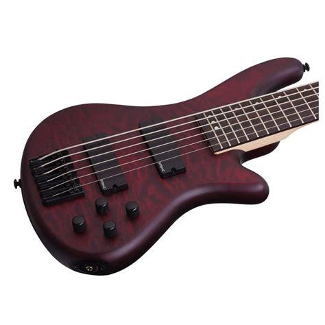 Guitar Schecter schecter stiletto custom 6 bass guitar vyre satin