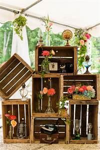 Caisse De Pomme : mariage vintage caisse pommes ~ Teatrodelosmanantiales.com Idées de Décoration