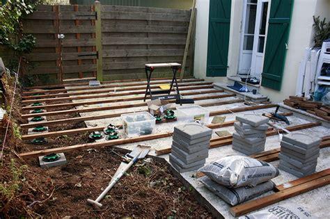 dalle stabilisatrice pour plot a verin construction d une terrasse en bois etape 1 graphiste ind 233 pendant