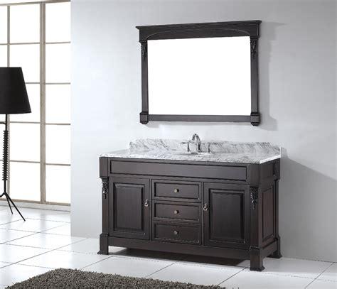 Sink Bathroom Vanity by 60 Inch Single Sink Bathroom Vanity Review