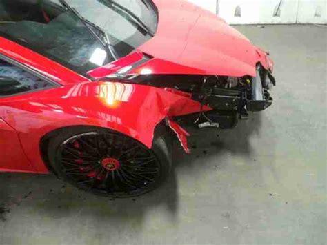 crashed lamborghini for sale lamborghini aventador sv lp750 4 v12 2016 salvage cat d