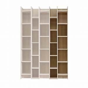 Bibliothèque En Pin : extension biblioth que blanche en pin klasina ~ Teatrodelosmanantiales.com Idées de Décoration
