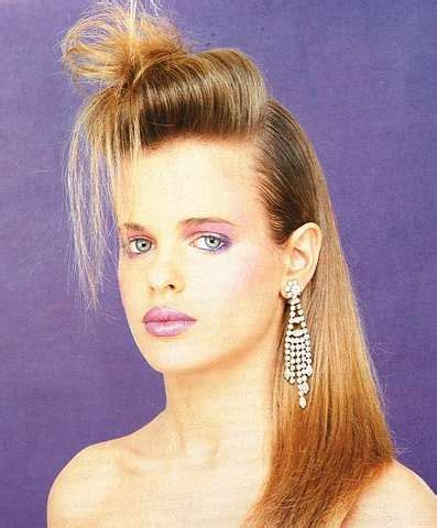 Hairstyle 80s by 80s Hairstyles 1980s Hairstyles And Hair Buns On