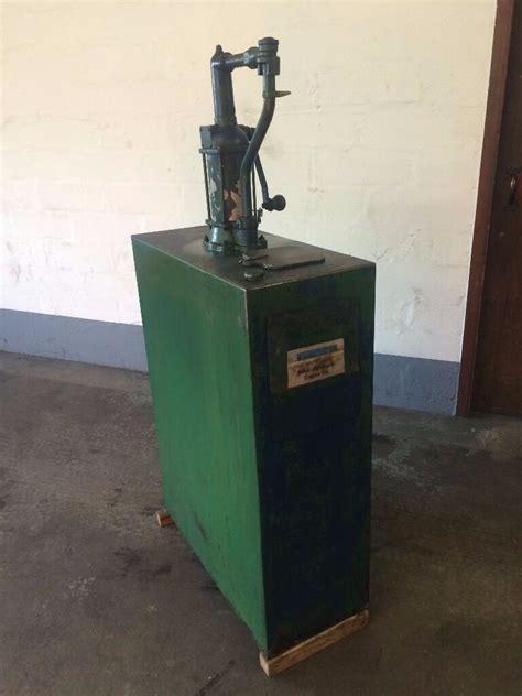 duckhams vintage oil tank  pump  banff