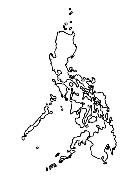 philippines pattern   printable outline  crafts