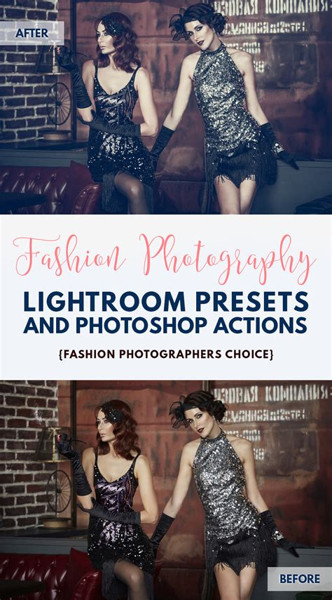 fashion lightroom presets photoshop actions  acr presets