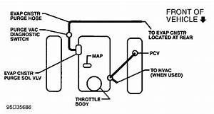 Need To Find A Schematic Of The Vacum System On A 1996 Gmc Safari  Husband Replaced The