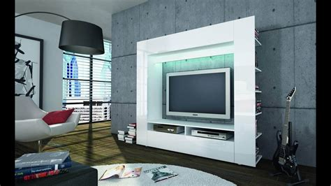 modern custom led tv wall units  entertainment centers