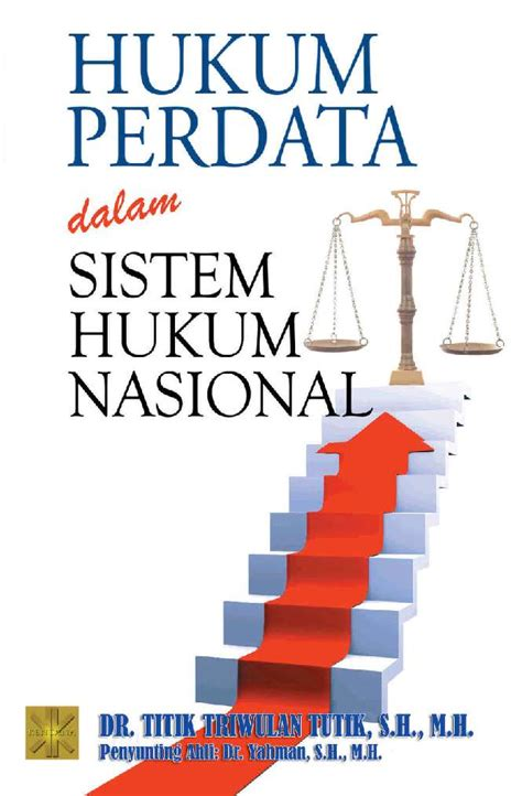 Buku Ajar Hukum Perdata jual buku hukum perdata dalam sistem hukum nasional oleh