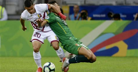 World cup qualification game : Venezuela beats Bolivia 3-1 and advances in Copa America