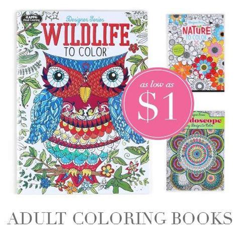 coloring books for adults as low as 1 each