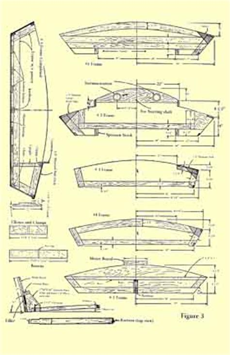 Wooden Hydro Boat Plans by X1 Hydroplane Plans Nakl