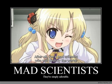 Anime Girl Memes - mad scientists anime meme com