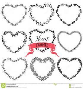 Rustic Heart Wreath Clip Art