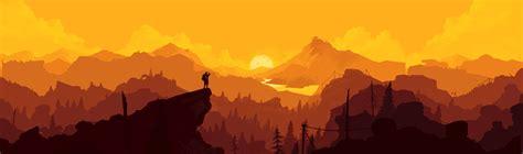 firewatch screenshot    ideal poster wallpaper