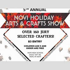 Oct 21  Novi Holiday Arts & Crafts Show  Novi, Mi Patch