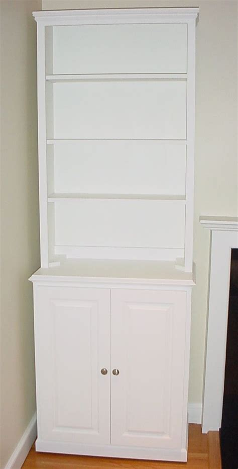 White Bookcase Cabinet by White Cabinets Bookcase Bookcase Cabinet With Doors