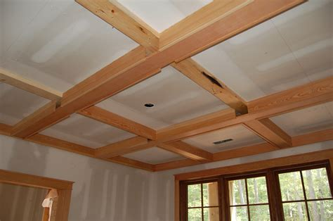 Simple Coffered Ceiling by Simple Wood Coffered Ceiling Kits For Do It Your Self