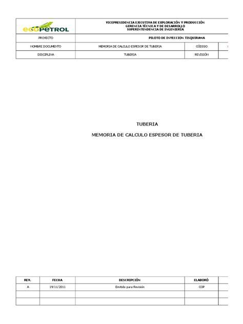 Calculo de Tuberia Por ASME B31.3 | Pipe (Fluid Conveyance