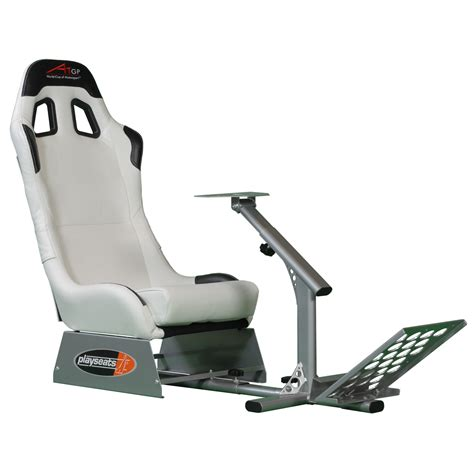 siege et volant ps3 playseats a1gp siège simulation automobile blanc base