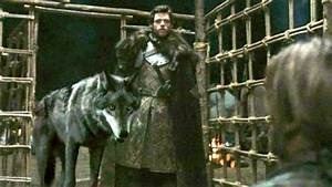 Robb and Grey Wind - Game Of Thrones - Direwolves Photo ...