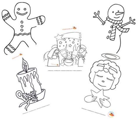 Animali Da Cortile Da Colorare by Disegni Di Natale Da Colorare Per Bambini