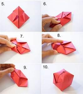 Bricolage Facile En Papier : diy bricolage comment faire bo te origami forme pomme ~ Mglfilm.com Idées de Décoration