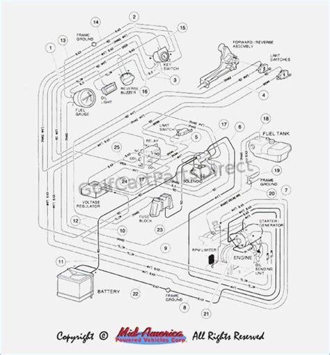 48 volt club car battery wiring diagram auto electrical
