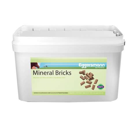 eggersmann mineral bricks  kg vitamine minerale