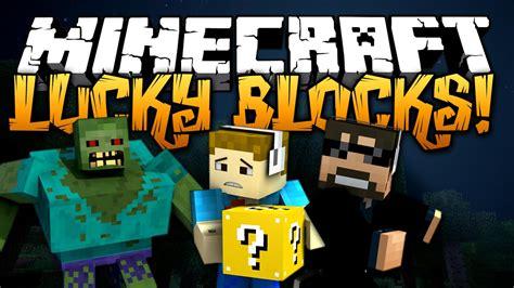 minecraft lucky block mod challenge  insane mobs